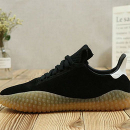 e2d17f0dcd35 Brand New Kamanda Black Suede Black Yellow Raw rubber Casual Running shoes  for Good quality Men s Athletic shoes Jogging Size 40-45