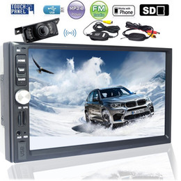 2din kit online shopping - EinCar Car Audio Double Din DIN MP5 Stereo In Dash GPS Navigation Bluetooth Mirror Link EQ SWC USB GB Map Card Wireless camera