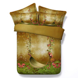 3d queen bedspreads NZ - 3D galaxy Duvet Cover flowers bedding sets queen floral Bedspreads Holiday Quilt Covers Bed Linen Pillow Covers