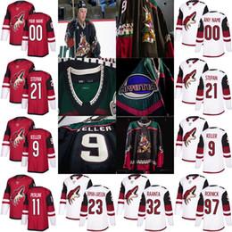 2019 Arizona Coyotes 9 Clayton Keller Barrett Hayton Galchenyuk Brendan  Perlini Derek Stepan Roenick Goligoski Hockey Jersey 17872dd4a