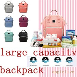 Wholesale Diaper Bag Backpack Multi Function Waterproof Maternity Nappy Bags for Travel with Baby Large Capacity Durable and Stylish Gray
