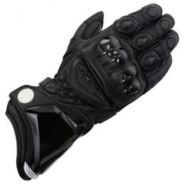 $enCountryForm.capitalKeyWord Australia - motorcycle guantes gant moto GP gloves luva motociclista 100% Genuine Leather Long Original Cowhide Gloves Racing Motorbike