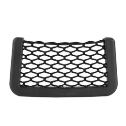 Car seat holder organizer online shopping - 1PC Vehicle Storage Mesh Resilient Car Carrying String Bag Nylon Network Pocket Handphone Holder Auto Accessories