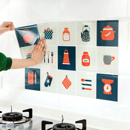 Printed Ceramics NZ - High Temperature - Resistant, Oil - Proof Self-Adhesive Paper For Ceramic Tile Wall Pasting Kitchen, Wall Paper