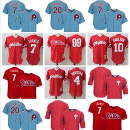 b71659e37 ... czech philadelphia phillies baseball jerseys mens 7 maikel franco 4  lenny 10 darren daulton 99 mitch ...