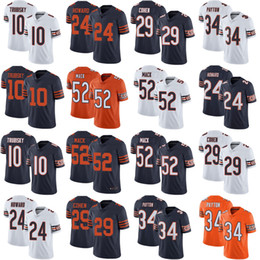 52 Khalil Mack chicago 10 mitchell trubisky jersey men 34 walter payton 54  brian urlacher bears 24 howard 29 tarik cohen jerseys stitched 01 532d1f72b