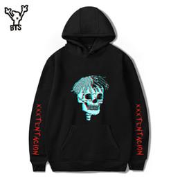 42aed183aea BTS 2018 Hot Sale Hip Hop Hoodies Sweatshirts Raper XXXTentacion Harajuku  Men Cool Casual Print Autumn Plus Size 4XL A8322-A8324