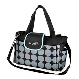 Discount new mom baby bags - New Baby Mummy Diaper Bag Mom Nappy Dot Bag Tote Handbag