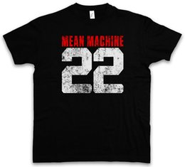 T-SHIRT MEAN MACHINE 22 The Longest Yard Danny Meehan Maglietta di arti marziali