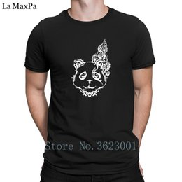 338a095a7602e Printing Trend Tshirt Man Tribal Panda Tattoo Tee Shirt For Mens Best Clever  T Shirt For Men Fit T-Shirt 100% Cotton Unisex