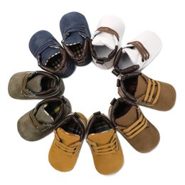 $enCountryForm.capitalKeyWord Australia - Newborn Shoes Boy First Walkers Baby Canvas Shoes Toddler Moccasins Infant Baby Boy Booties Crib Sneakers