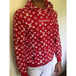 Marke Designer Hoodies Mens Pullover Mit Kapuze Lose Dicke Lässige Hip Hop Brief Muster Langarm Größe 2018 Neue Mode Hoodie S-2XL im Angebot