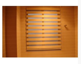 Chinese  Popular zebra blinds double-layer roller blinds ready made curtain curtain fabric curtain window curtain manufacturers
