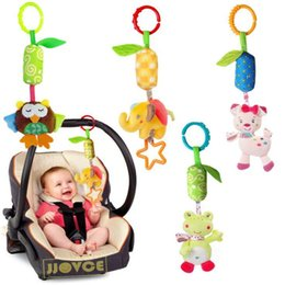 Cot Toys For Babies Canada - Sozzy Baby Toys Travel Arch Stroller Hanging Cot Bed Crib Mobiles Soft Plush Rattles Toy For Newborn Babies