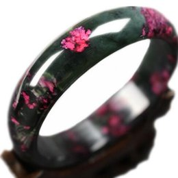 $enCountryForm.capitalKeyWord NZ - Nice Beautiful Peach Blossom Natural Bangle Bracelet Green Red Fine Jadeite