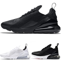 Nike Air Max 270 Airmax Big Size 46-49 270 Running Shoes Uomo Donna 270s  Core Triple Nero Bianco Oreo Cheap Top Designer Trainer Sport Sneaker US  5.5-14 6789c6ed77b