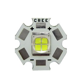 Chinese  Cree MK-R MKR White Light 6000k Led Chip Light 6V 12V With Copper PCB Board 20MM 10pcs lot manufacturers