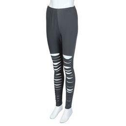 Yoga Pants Xxl NZ - 2018 New Yoga Pants Women Elastic Waist Trousers Polyester Fashion High Waist Yoga Sport Casual Pants Plus Size Stars Women