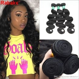 hair bundles NZ - 8A 3 or 4 Bundles Malaysian Virgin Hair Body wave 8-28 inch Brazilian Body Wave Double Weft Human Hair Extensions Dyeable Hair Weave