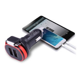 $enCountryForm.capitalKeyWord NZ - Universal 5V 3.1A Mini Adapter Dual USB Car Charger with cable with detail boxes For iPad for iPhone