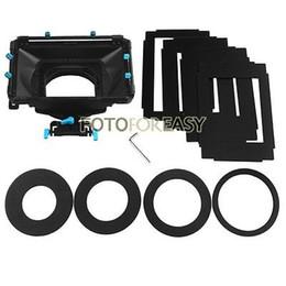 Discount mask rig - FOTGA DP3000 Pro Matte Box with 4:3 16:9 Ratio Mask + Donuts for 15mm Rod DSLR Rig