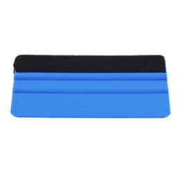 $enCountryForm.capitalKeyWord NZ - PP Durable Felt Wrapping Scraper Squeegee Tool for Car Window Film Blue Color