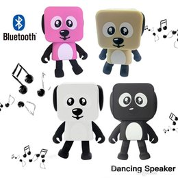 $enCountryForm.capitalKeyWord UK - Portable Wireless Bluetooth Stereo bass Loudspeaker Small Square Dancing Robot Dog Sound Bass Music Speaker c336