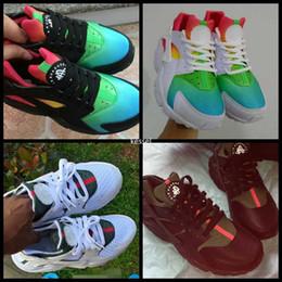 Custom glitter shoes online shopping - 2018 Air Huarache Ultra Custom  Designer Running Shoes For Men 7d421e1b2d