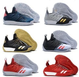 4910779d842 New Arrival James Harden Vol 2 Basketball Shoes black white red mens harden  vol.2 Sneakers for sale Size 40-46