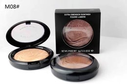 foundation mineralize powder Australia - Hot Sales Makeup EXTRA Dimension Skinfinish Mineralize Face Powder Plus Foundation 8 Colors Free Shipping 6pcs lot
