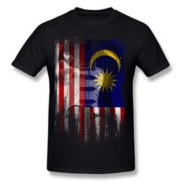 $enCountryForm.capitalKeyWord Canada - Mix Order Mens 100% Cotton Fabric Distress Guitar flag Malaysia T-Shirt Mens O Neck Dark Blue Short Sleeve Tee Shirts Extra large Size Gift
