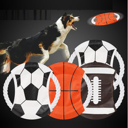 $enCountryForm.capitalKeyWord NZ - 2018 World Cup Dog Flying Disc Bite Resistant Canvas Puppy Training Toy Funny Round Pet Frisbee Canvas flying disc