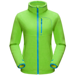 windproof clothing 2019 - Camping Hiking Soft Sweater Thermal Outdoor Sports Coat Women Fleece Thicken Windproof Jacket Jaqueta Female Clothing GK