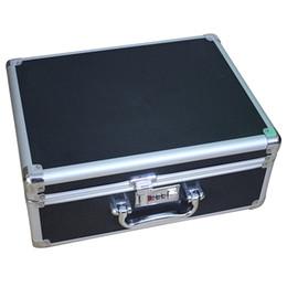 aluminium alloy case 2019 - Lockable Storag Box Aluminium Alloy Tools Suitcase Code Suitcase Tool Box Storage Bins Travel Case Multifunction Repair