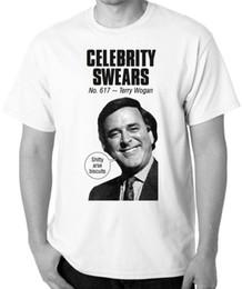 $enCountryForm.capitalKeyWord Australia - Terry Wogan T Shirt Celebrity Swears T Shirt Cancer Research R.I.P. Sir Terry 100% Cotton For Man Shirts Fashion T Shirt Brand Print