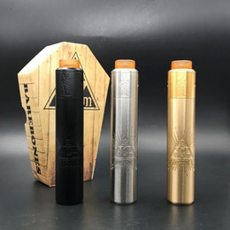 $enCountryForm.capitalKeyWord Canada - Barebones Mech Mod Deathwish Unholy V2 RDA Kit Clone With 18650 Or 20700 Battery 26mm Diameter Smart Contact System High Quality DHL free