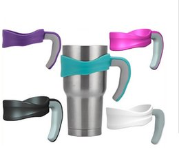 Wholesale 30 ounce mug Handle for stainless steel mug plastic holder for ounce camouflage car cup Drinkware Handle