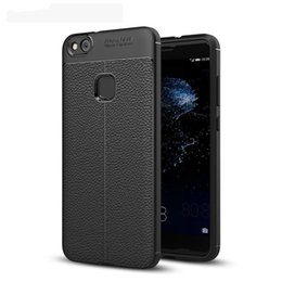 navy blue iphone cases UK - For Huawei P10 LITE Case Top Quality Soft Silicone Case for Huawei P10 LITE Cover SLIM Anti Slip ShockProof Full Protective Case