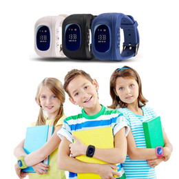 $enCountryForm.capitalKeyWord NZ - Kids Anti Lost Smart Watch Q50 kids LBS watches GPS Tracker SOS Smart Monitoring Positioning Phone Kids Watch Compatible IOS & Android