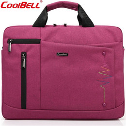 tablet pc sales UK - Fashion Business Tablet PC 14 inch Laptop Bag Hot Sale Men's Briefcase Waterproof Wear-resisting Nylon Cross Handbag Z273