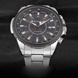 $enCountryForm.capitalKeyWord Australia - WINNER Mens Wrist Automatic Mechanical Watch Men Top Brand Luxury Clock Business Steel Watches Free Shipping