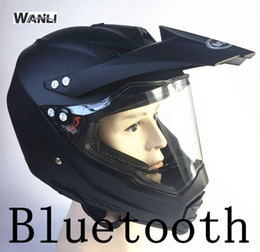bluetooth listening 2019 - bluetooth helmet motorcycle 2017 DOT BT speakers motocross listen to music link apple or android road cross helmet cheap
