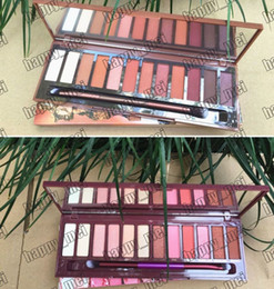 nude palette 12 Canada - Factory Direct DHL Free Shipping New Makeup Eyes Nude Cherry Heat Eye Shadow Palette 12 Colors Eyeshadow!