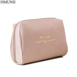 Girls make up kits online shopping - HMUNII Portable Make Up Women Makeup Organizer Bags Girls Cosmetic Bag Toiletry Travel Kits Storage Bag Handbag A02