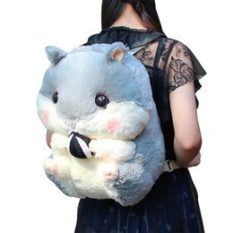 Styles Backpacks Australia - staff backpack anime hamster sweet style high quality party bag cute and cleverish