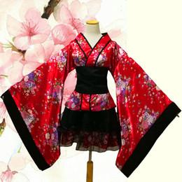 $enCountryForm.capitalKeyWord NZ - Plus Size S-XXXL Lolita Maid Dress Japanese Yukata Sakura Sexy Kinomoto Meidofuku Kimono Anime Cosplay Halloween Women Costume