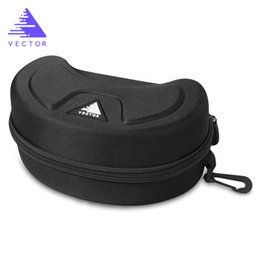 $enCountryForm.capitalKeyWord Australia - Portable EVA Ski eyewear Goggle Glasses Protector Case(Without Goggles) Glasses Box Sunglasses Zipper Storage Bag with Buckle Hook Black