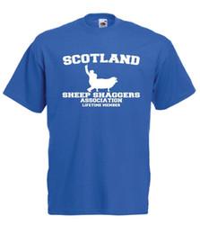 scotland top 2019 - SCOTLAND SHEEP funny xmas birthday gift idea mens womens NEW T SHIRT TOP TEE cheap scotland top