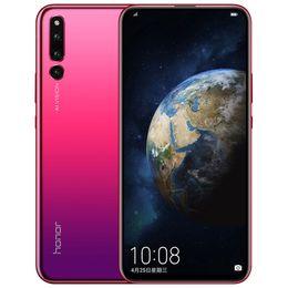 "Wholesale Original Huawei Honor Magic 2 4G LTE Cell Phone 6GB RAM 128GB ROM Kirin 980 Octa Core Android 6.39"" 24.0MP Face ID Smart Slider Mobile Phone"