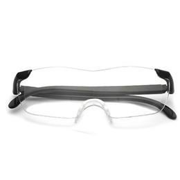 Горячая Продажа 1.6 Раз Увеличительное Очки Для Чтения Пресбиопические Очки Очки Большое Зрение +250 Мода Бесплатная Доставка